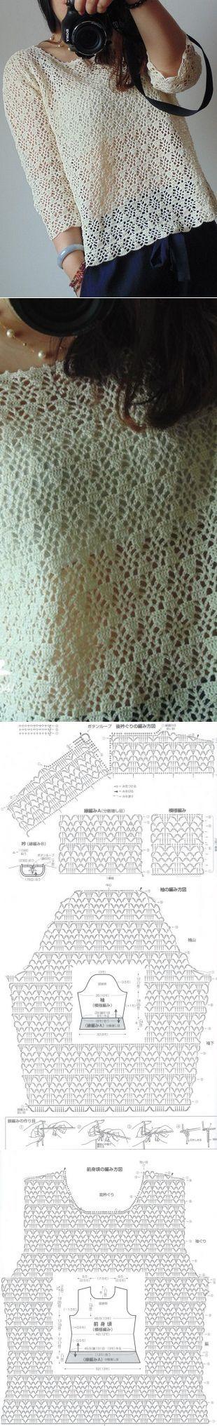 675 best alma images on Pinterest | Knit crochet, Crochet patterns ...