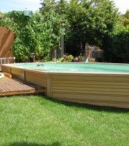 1000 id es sur le th me piscine enterr e sur pinterest for Piscine semi enterree 10m2