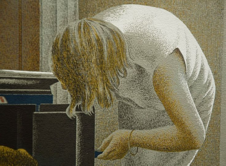alex colville paintings | Alex Colville. Acrylic painting.