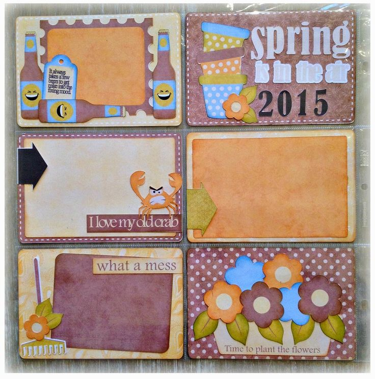Nanne's Creations: Spring is in the Air-Project life