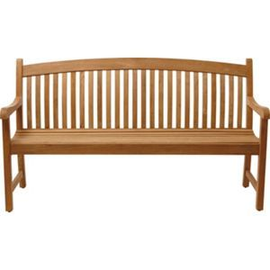 Greenwich Teak 3 Seater Bench
