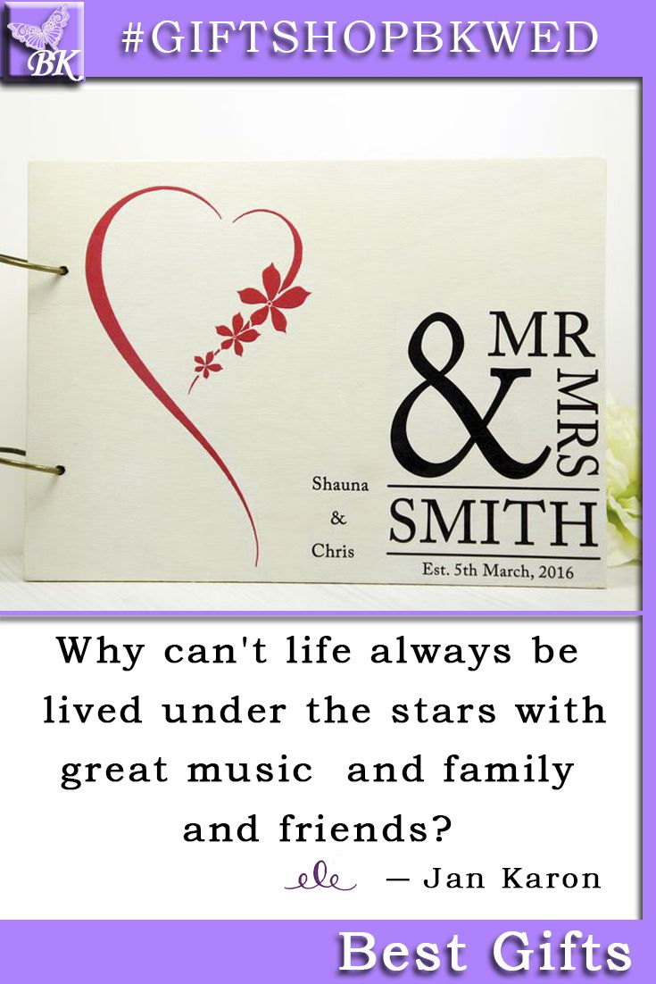 Guestbook is big enough to put all records of your visitors Keep these records as a reminder of your special day Guestbook consists of 30 removable thick white sheets #giftshopbkwed #wedding #guestbook #ceremony #guest #personalized #gift #rustic #book #advicebook #Bride #Groom #His #Her #mr #mrs #Birthday #anniversary #custom #bridalshower #monogram #wood #wooden #diy #advice #shabbychic #favor #notebook #love #tree