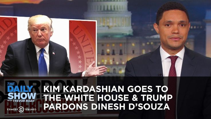 Kim Kardashian Goes To The White House Trump Pardons Dinesh D
