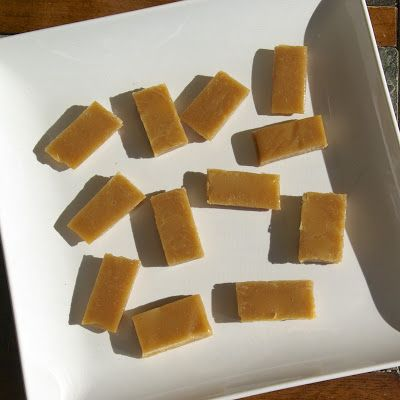 Six Minute Caramels  Yields: 32 Caramels  Ingredients:  1/4 cup butter - cut into 8 pieces   1/2 cup granulated sugar   1/2 cup brown sugar - firmly packed   1/2 cup light corn syrup   1/2 cup sweetened condensed milk   1 tsp. vanilla   Sea Salt - for sprinkling (optional)   Melted Chocolate - for drizzling (optional)       Directions:  Prepare an 8x8 baking dish lined with tin foil and sprayed well with non-stick cooking spray.   In a 2 quart (or larger) microwave-safe bowl combine all…