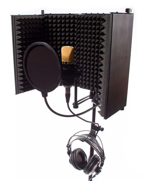 Home Recording Studio Packages | Studio Vocal Recording Package - BM-700 (this looks like it might block sound better than the one I have.)