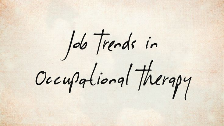 job-trends-in-occupational-therapy: what OT students need to know. Repinned by SOS Inc. Resources pinterest.com/sostherapy/.