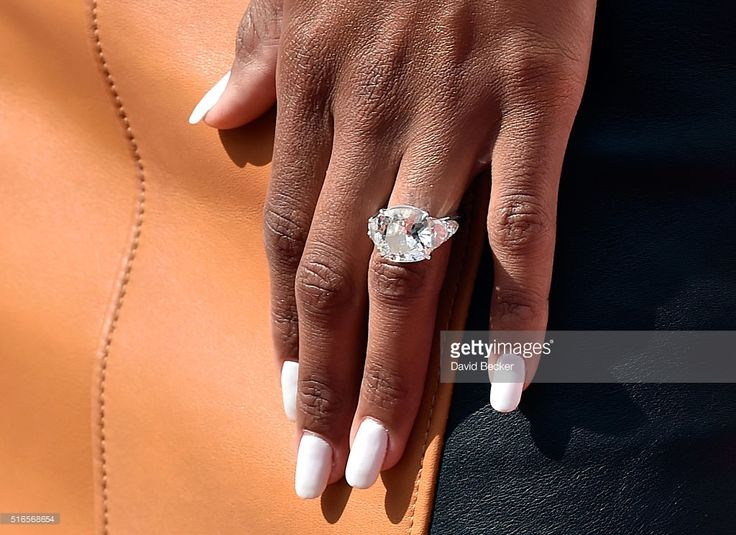 Recording artist Ciara, ring detail, arrives at the season grand opening of the Marquee Dayclub at The Cosmopolitan of Las Vegas on March 19, 2016 in Las Vegas, Nevada.  (Photo by David Becker/Getty Images)