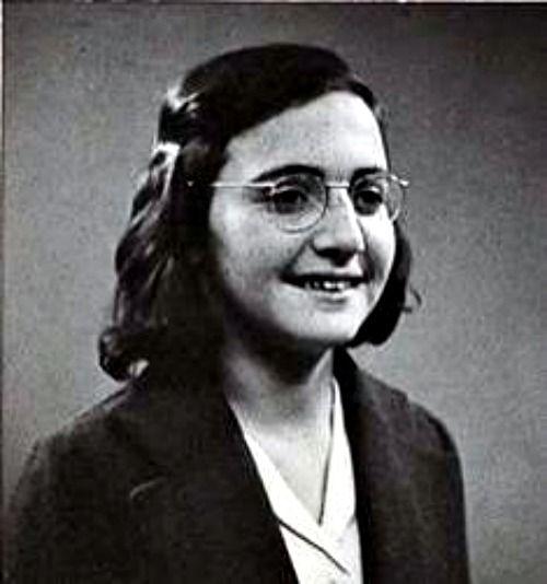 Margot Frank, Amsterdam, 1942. Annes sister.