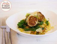 IQS 8-Week Program - Pork and Fennel Meatballs  Always like to try new things for dinner so that's why I picked the meatballs.