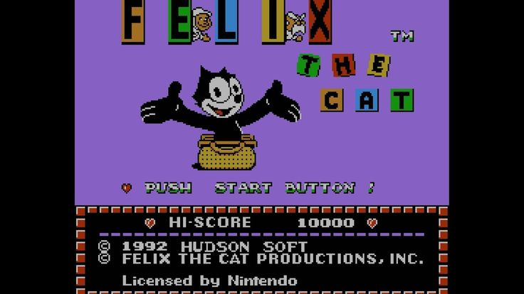 Failed at Playing Felix the cat (NES)