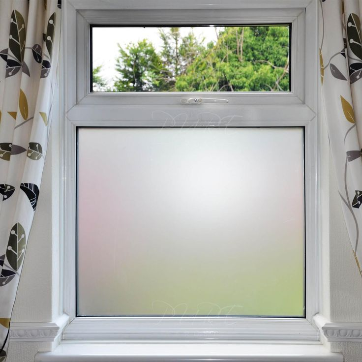 Good Bathroom Frosted Window Film