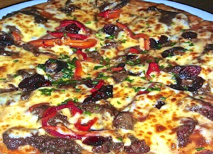 Kangaroo Pizza - see our list of 14 places in Sydney to eat!