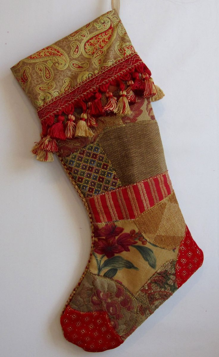 25 best Best Christmas stockings ever images on Pinterest | Fabric ...