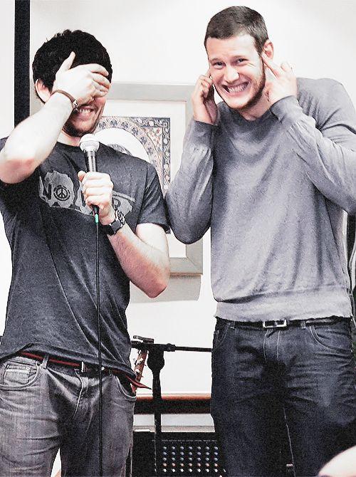 Colin Morgan and Tom Hopper <3