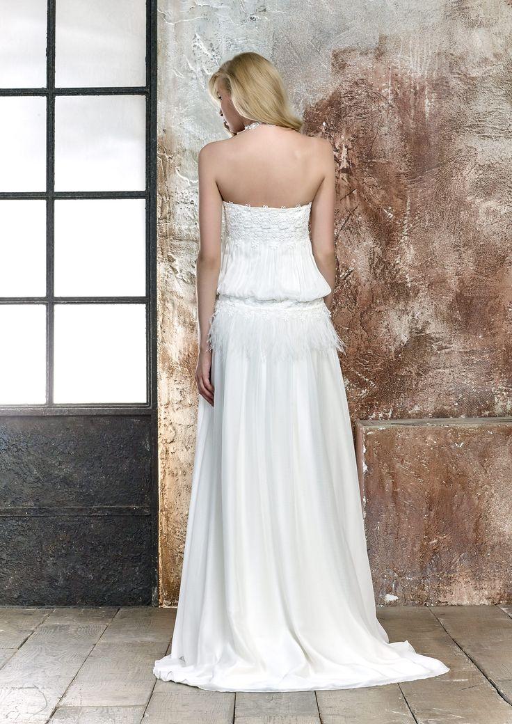 vestido de novia ASASE | María Salas Novias 2017
