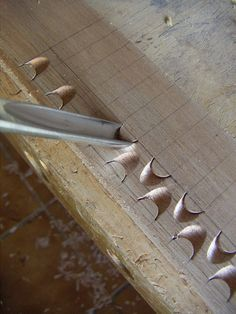 Exercises wood carving for beginners