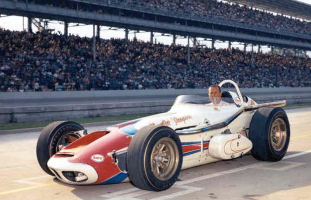 Indy 500 winner 1964: A.J. Foyt  Starting Position: 5  Race Time: 3:23:35.830  Chassis/engine: Watson/Offy