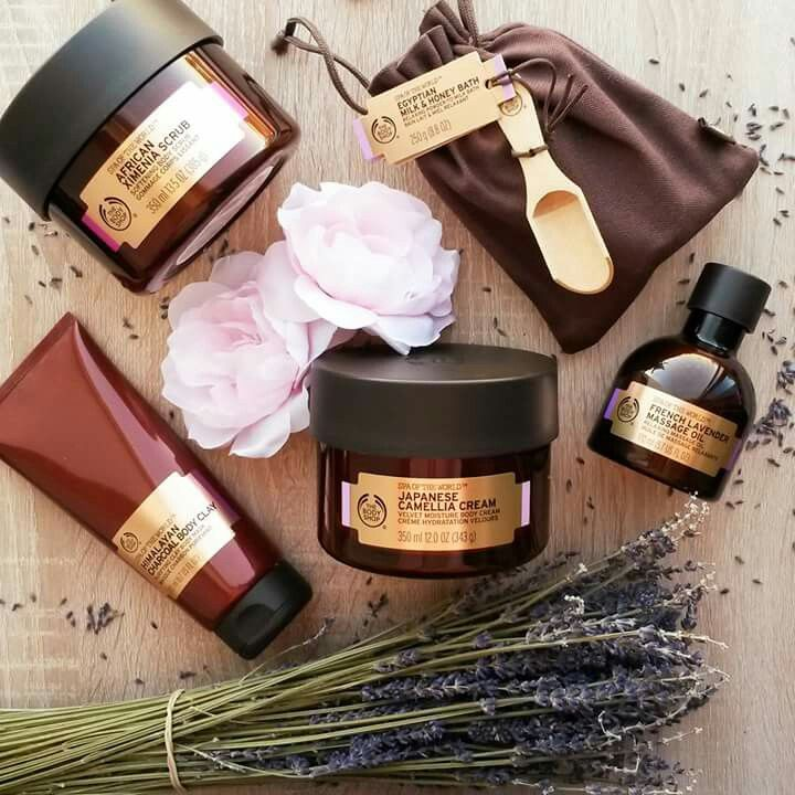 Spa of the World, The Body Shop