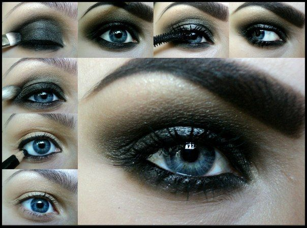 How to do smokey eyes for blue eyes