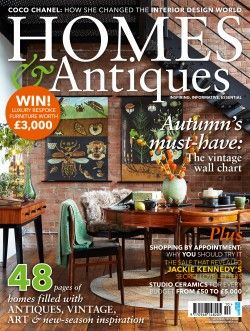 Homes & Antiques' October issue is out now and we are delighted to find that one of our favourite #O2idesign projects was covered. Words by Jo Leevers and photography by Penny Wincer.