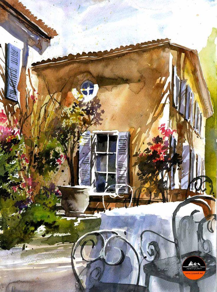 Provence Autor: Aleksander Zalewski