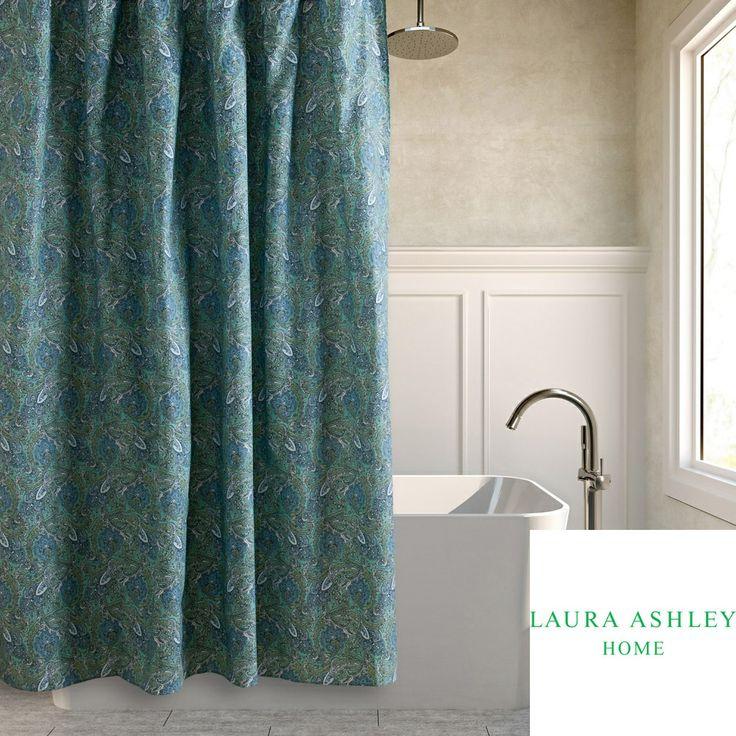 Laura Ashley Brentford Cotton Shower Curtain | Overstock.com | P. Condo    MasterBedroom | Pinterest | Brentford, Laura Ashley And Curtain Shop