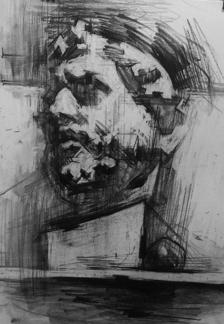 #art #drawing #charcoal #study #June