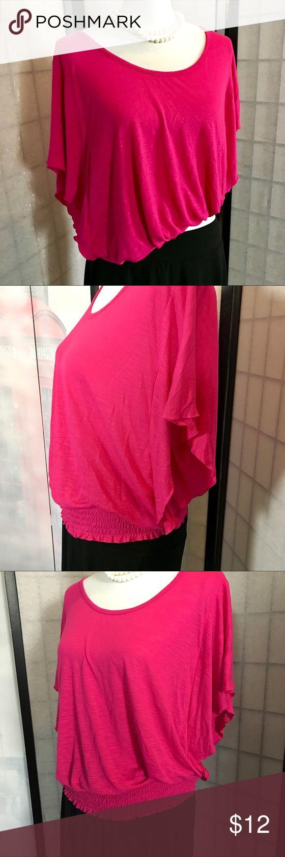 Sweet Pink batwing top XL Sweet Pink batwing top XL Tops