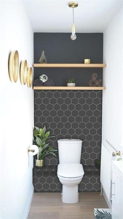 Die 65 beliebtesten kleinen Badezimmer-Umbau-Ideen im Jahr 2018 mit kleinem Budg…  # Bad