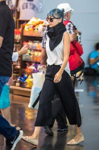 Nicole Richie - Nicole Richie Touches Down At JFK