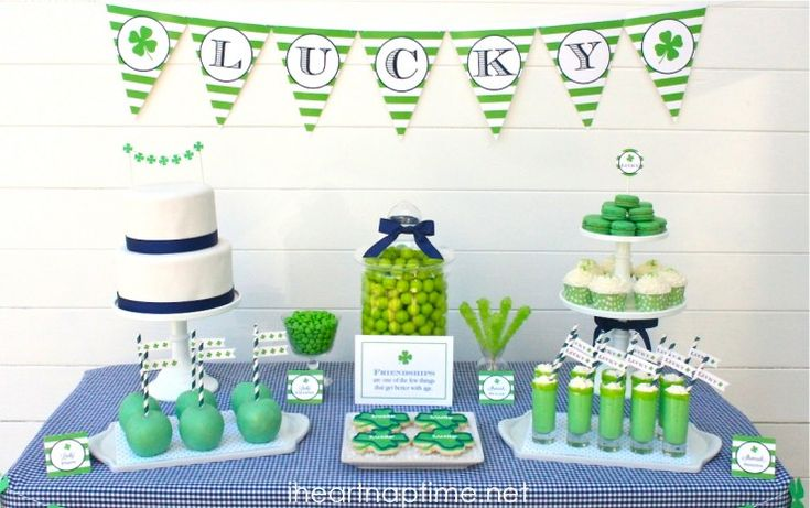 St. Patricks Party Ideas and Free Printables I Heart Nap Time | I Heart Nap Time - Easy recipes, DIY crafts, Homemaking