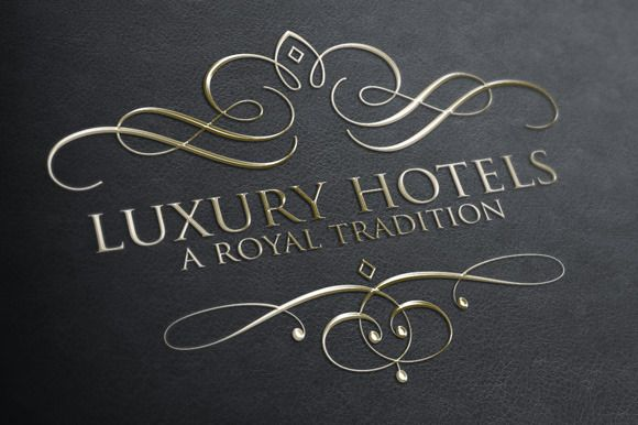 Luxury & Royal Logos perfect for anyone with the finest taste.