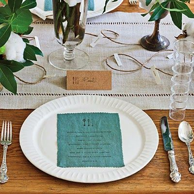 17 best images about name game on pinterest washington Simple table setting for lunch