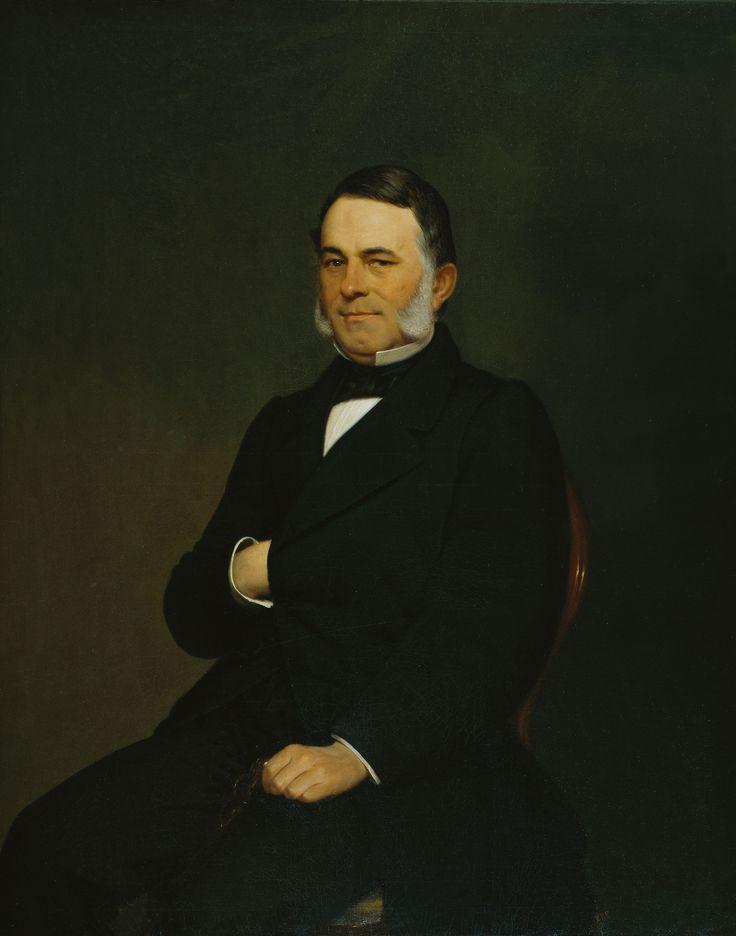Retrato de Manuel José de Ocampo. Artista: Prilidiano Pueyrredón. Fecha: c.1860.