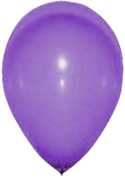 24 Ballons violets 25 cm                                                                                                                                                                                 Plus