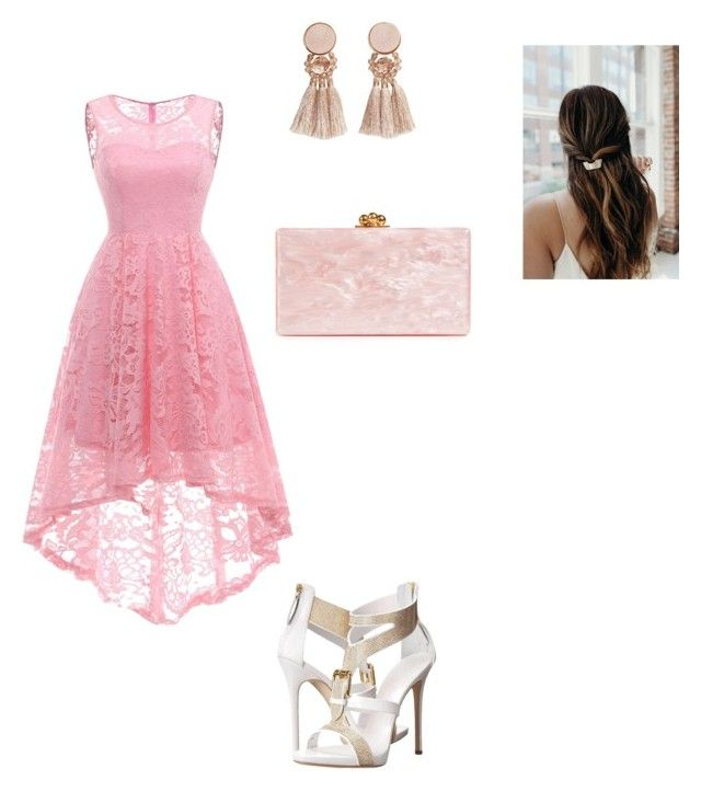 """""""Parties"""" by skylarmuffin on Polyvore featuring Edie Parker and MANGO"""