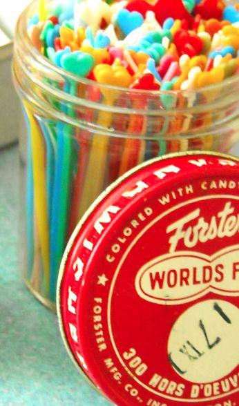 Cutie Vintage Hors d'oeuvres picks