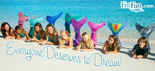 A Mermaid Tail for Everyone, http://www.finfunmermaid.com/shop-mermaid-tails/adult-and-kids-mermaid-tails.html