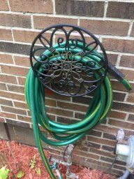 Liberty Garden Products 670 Aluminum Wall-Mounted Garden Hose Hanger $11.98 normally $24.00 #LavaHot http://www.lavahotdeals.com/us/cheap/liberty-garden-products-670-aluminum-wall-mounted-garden/136652