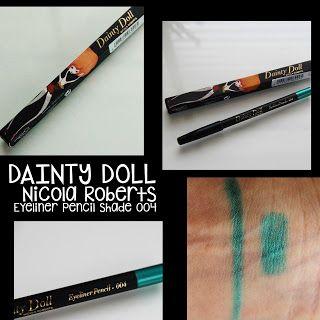 MichelaIsMyName: DAINTY DOLL Nicola Roberts Eyeliner Pencil Shade 0...