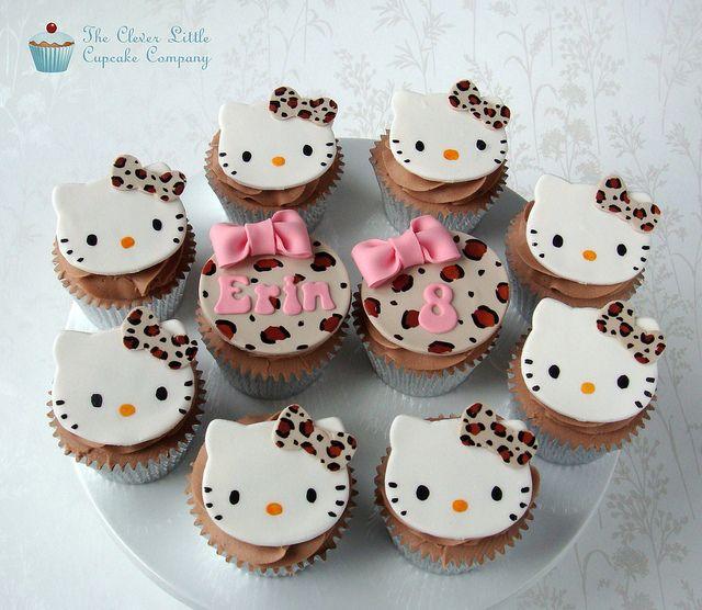 Hello Kitty Cupcakes   Flickr - Photo Sharing!