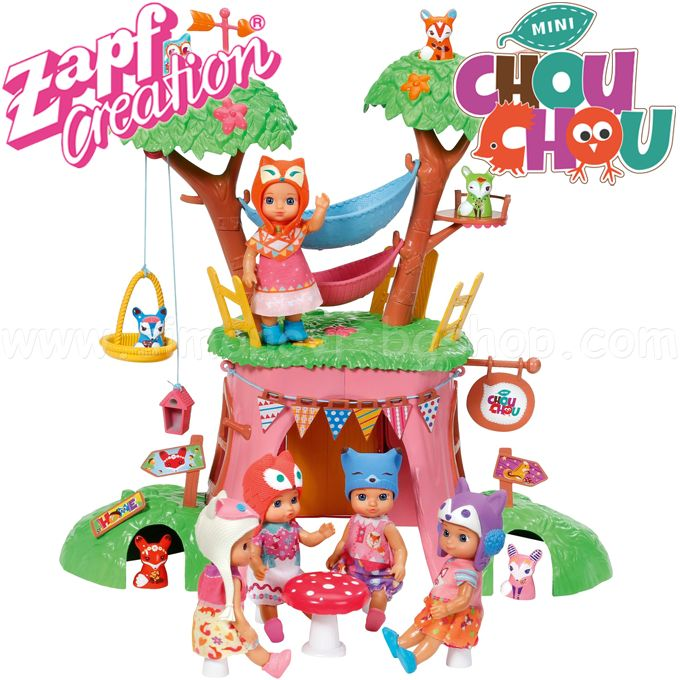 * Chou Chou Feature set treehouse Zapf Creation 920 282