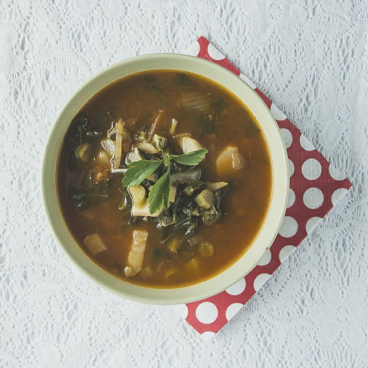 Zupa z kalarepy z ziemniakami i suszonymi morelami