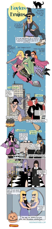 Novias y Brujas - Moderna de pueblo