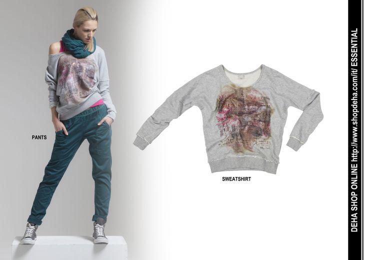 Per il vostro shopping online #DEHA #sweatshirt #pants http://www.shopdeha.com/it/ http://www.shopdeha.com/it/essential/39-felpa.html http://www.shopdeha.com/it/essential/51-pantalone.html
