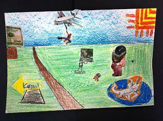 Art @ Massac: Surrealism with 6th Grade