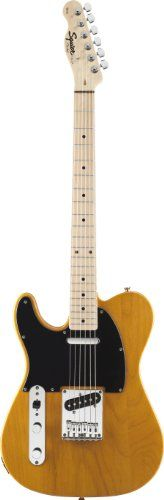 Fender Squier® Affinity Telecaster® – Left Handed Electric Guitar, Butterscotch Blonde  http://www.instrumentssale.com/fender-squier-affinity-telecaster-left-handed-electric-guitar-butterscotch-blonde-2/