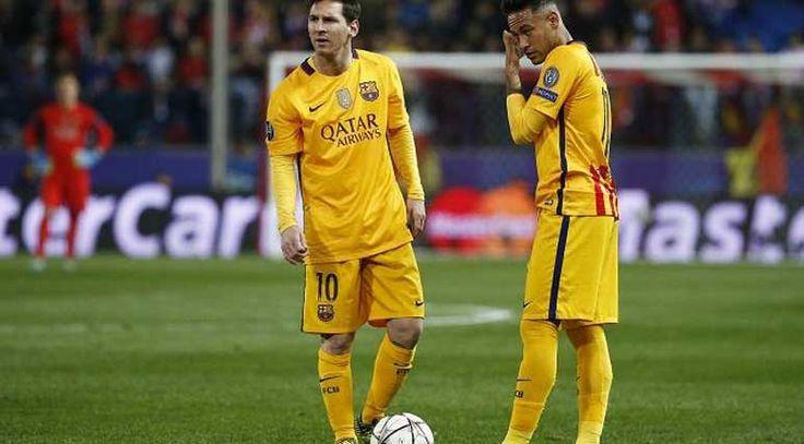 Neymar dan Messi Mulai Tidak Harmonis