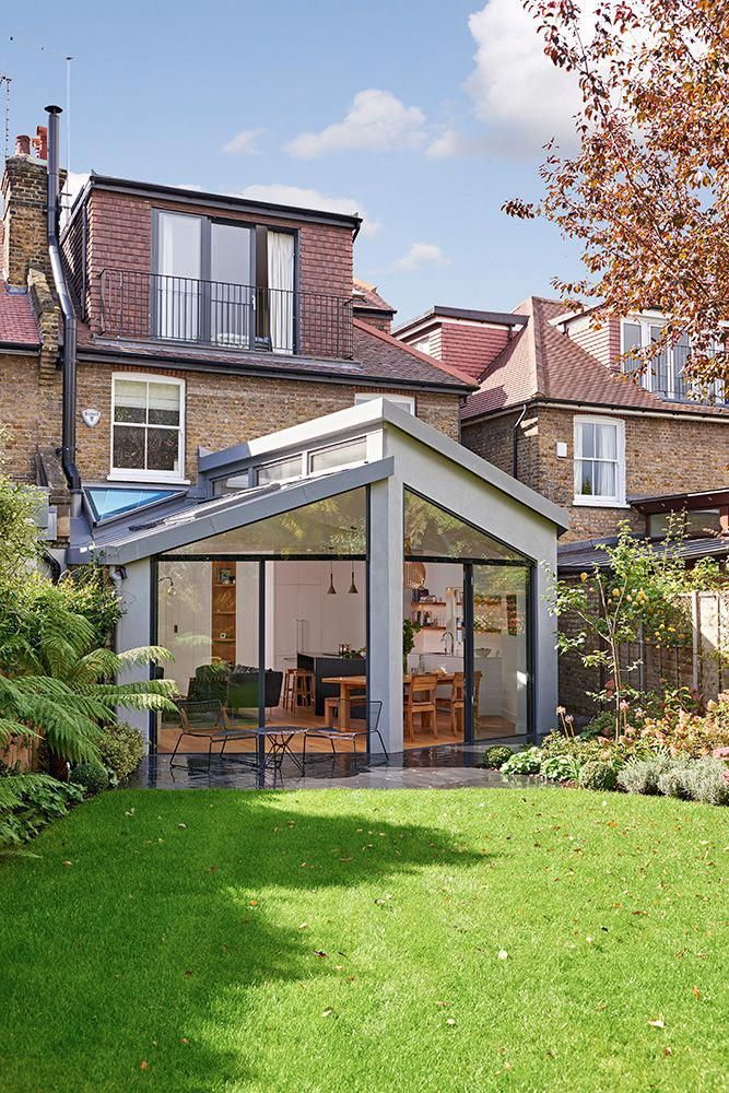 I Like The Unusual Design Of This Extension It Has Architectural Purpose It S Not Bog Standard Garden Room Extensions House Extension Design Room Extensions