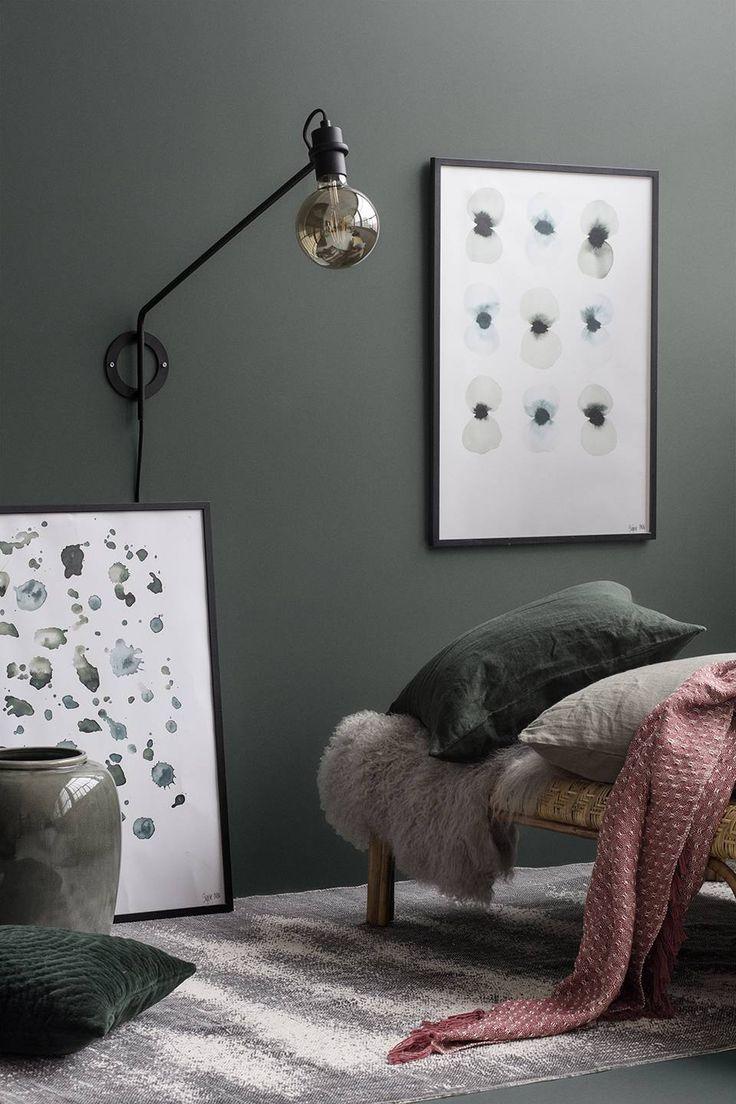 Kleur in je interieur: Blauw & Groen